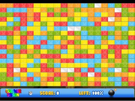 بازی فلش آنلاین فکری color-chain