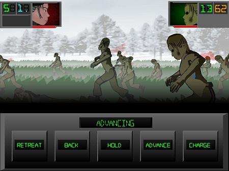 بازی فلش آنلاین حمله زامبی ها