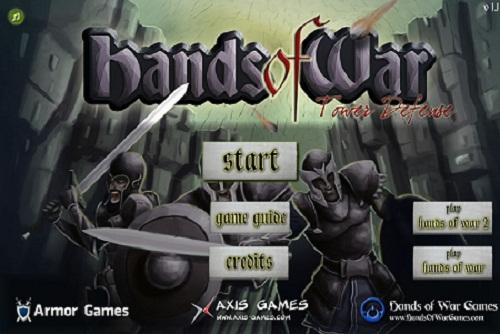 بازی فلش آنلاین استراتژیک hands-of-war