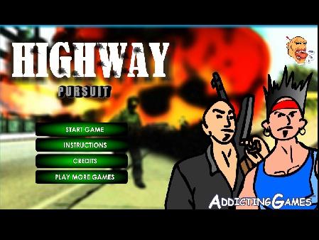 بازی فلش آنلاین شلیک رد اتوبان highway-pursuit