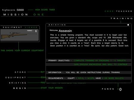 بازی فلش آنلاین اسنایپر-sniper
