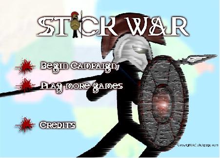 بازی فلش آنلاین stick-war