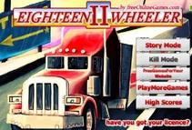 بازی آنلاین مرحله ای رانندگی و پارک کامیون برای دانلود