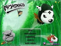 دانلود بازی انلاین نینجا سگ Ninja Dog شبیه پرندگان خشمگین