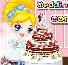 بازی آنلاین مسابقه کیک عروسی پزی Wedding Cake Contest