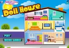 بازی آنلاین خانه زیبای عروسک ها -pretty doll house
