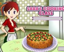 بازی غذا پختن کلاس آشپزی سارا