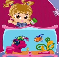 بازی تفاوت انلاین ماهی های آکواریوم Fish Tank