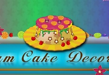 بازی آنلاین شیرینی پزی : تزیین کیک رویایی Dream Cake Decor