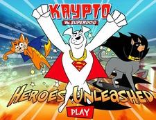بازی آنلاین قهرمانان: کریپتو سگ قهرمان Krypto The Superdog
