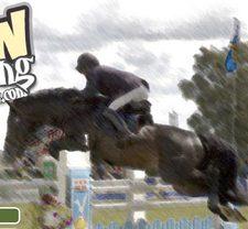 بازی اسب سواری انلاین پرش از روی مانع show jumping