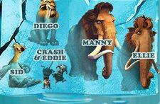 بازی پازل عصر یخبندان Ice age 2