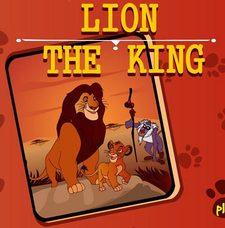 بازی پیدا کردن تفاوت های تصویر شیر شاه the lion king