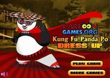 بازی انلاین طراحی لباس پاندا کنگفو کار پوkung fu panda po dress up