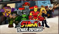 بازی قهرمانان : محافطین برج های آسمان stark tower defense