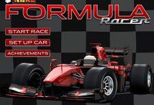بازی مسابقه فرمول یک جدید formula racer