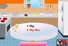 بازی دخترانه آشپزی :درست کردن کیک شکلات cooking choco cake