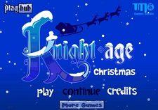 بازی آنلاین شوالیه سن کریسمس knight age christmas