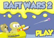 بازی ساده و دوست داشتنی قایق جنگی raft wars 2
