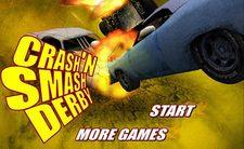 بازی ماشین جنگی مبارزه ماشین های خرابکار crash n smash derby