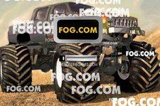 بازی ماشین بزرگ :ماشین سواری سه بعدی monster truck 3d reloaded