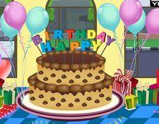 بازی طراحی کیک تولد جذاب charming  birthday cake