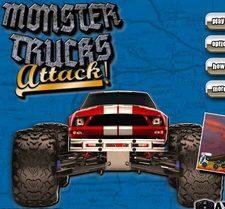 دانلود بازی حمله به ماشین های بزرگ monster truck attack