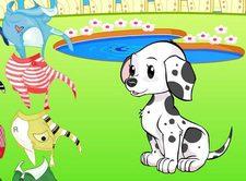 دانلود بازی کودکان : تزیین لباس برای سگ دوست داشتنی