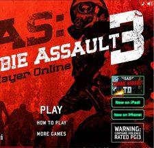 دانلود بازی آنلاین نبرد با زامبی های با کیفیت zombie assault 3