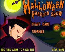 دانلود بازی آنلاین طراحی لباس هالووین halloween fashion show