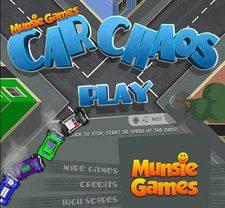 دانلود بازی آنلاین و سرگرم کننده کنترل ترافیک ماشین ها car chaos