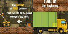 دانلود بازی فکری و سرگرم کننده آنلاین پر کردن کامیون truck loader