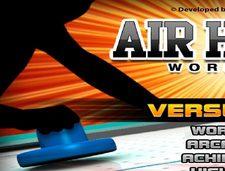 دانلود بازی ورزشی و سرگرم کننده هاکی جدیدی و آنلاین air hackey wordcups