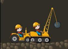 دانلود بازی متفاوت و سرگرم کننده راه سازی آنلاین :برادران بولدوزر کار buldozer brothers