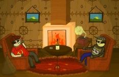 دانلود بازی متفاوت و مرحله ای دزدان شب آنلاین Night Robbers