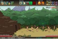 دانلود بازی استراتژیک و با کیفیت عصر جنگ age of war2 آنلاین