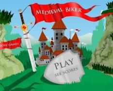 دانلود بازی دوچرخه سواری در قرون وسطی medieval biker آنلاین