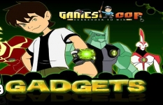 دانلود بازی اسباب بازی های بن تن ben 10 gadgets  آنلاین