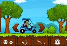 دانلود بازی کارتینگ ماشین های گلف  آنلاین crazy golfcart
