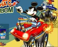 دانلود بازی کارتونی مسابقه ماشین میکی موس و دوستان آنلاین