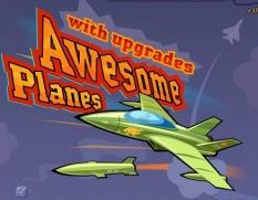 دانلود بازی هواپیماهای معروف Awesome Planes آنلاین
