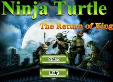 بازی بازگشت قهرمانان لاک پشت های نینجا آنلاین Ninja Turtle The Return of King
