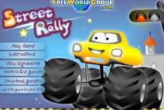 بازی آنلاین سرگرم کننده رالی در خیابان ها Street Rally به همراه دانلود