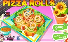 دانلود بازی آموزش آشپزی درست کردن پیتزا cook your own pizza rolls