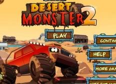دانلود بازی آنلاین ماشین های بزرگ بیابانی Desert Monster 2