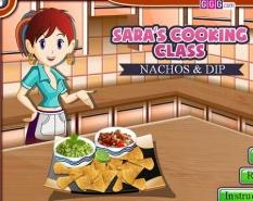 دانلود بازی کلاس آشپزی سارا جدید nachos & dip