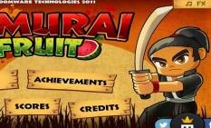 دانلود بازی سرگرم کننده و دوست داشتنی نینجا میوه ای samurai fruit