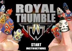 دانلود بازی کشتی کج انگشتان Royal Thumble
