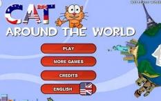دانلود بازی فکری غذا دادن گربه آنلاین Cat Around the world