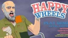 دانلود بازی خشن مسیرها happy wheels آنلاین